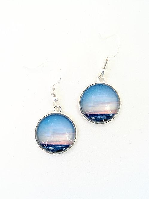 Anchored:  Ocean Sunrise Earrings