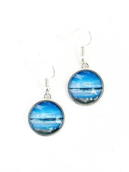 Summer Love:  Ocean Earrings