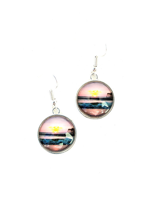 New Day: Ocean Sunrise Earrings