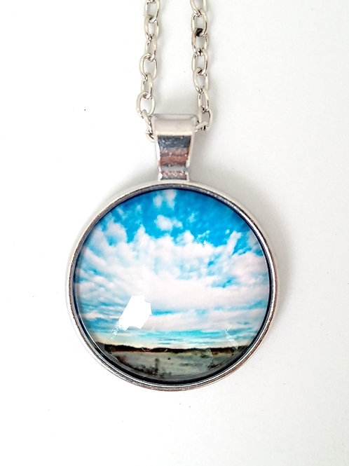 Endless Possibilities:  Beach Photo Necklace