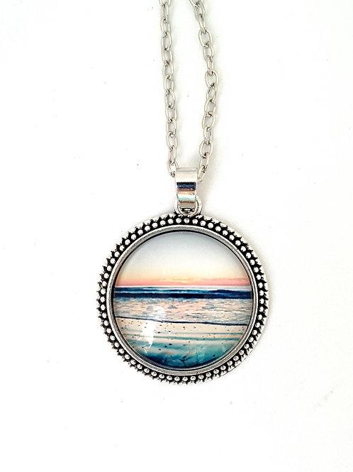 I Am: Sunset Photo Necklace