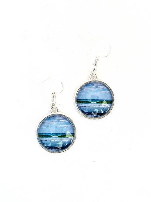 You Can: Wave Photo Earrings (danglies)