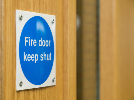 5 Step Fire Door Check