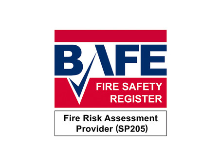 We are delighted to announce our BAFE SP205 Certification for life safety fire risk assessment