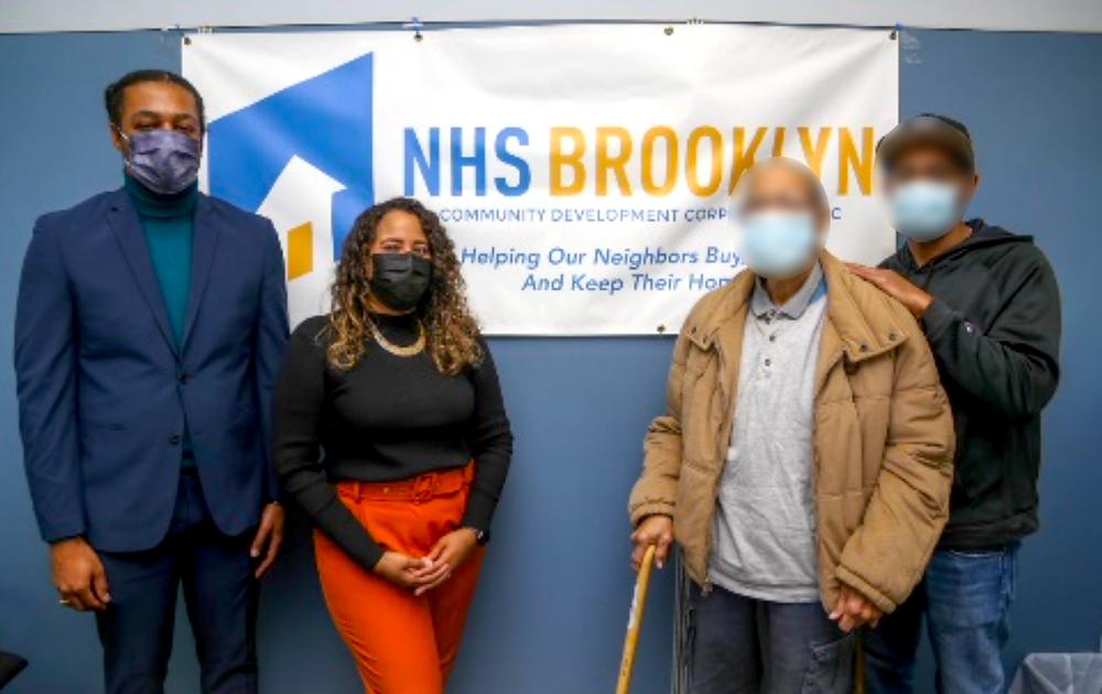 Serghio Adams, NHS Brooklyn Board President
