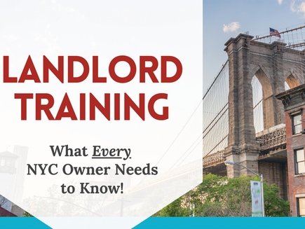 Landlord Training for Current & Future Owners