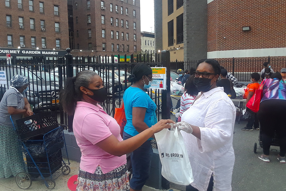 NHS Brooklyn Joins Elected Officials in PPE Giveaway