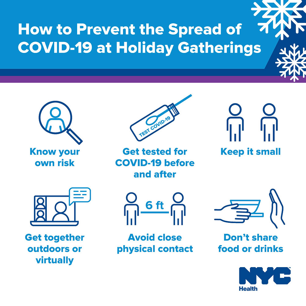 How to Prevent the Spread of COVID-19 at Holiday Gatherings