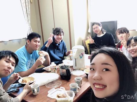 2月2日青年食事会&賛美練習