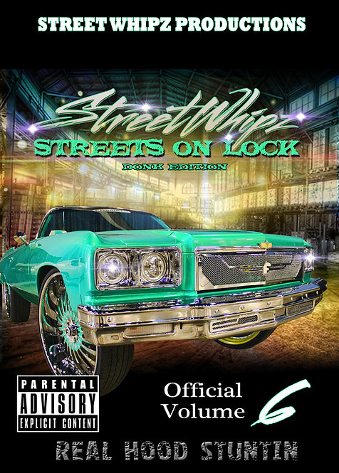 StreetWhipz Volume 6 ( DVD ONLY)