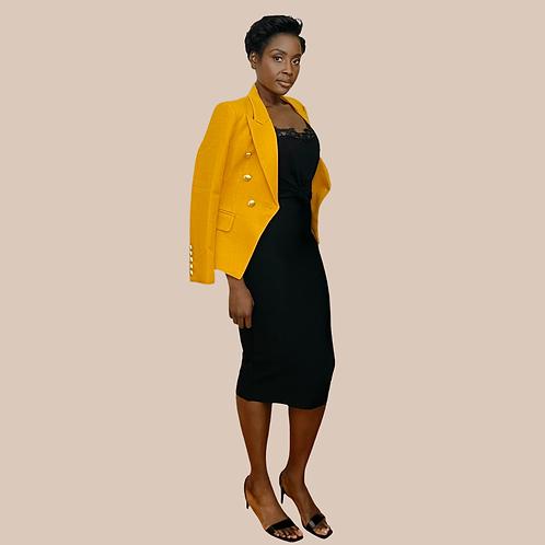 Black Bandage Pencil Skirt