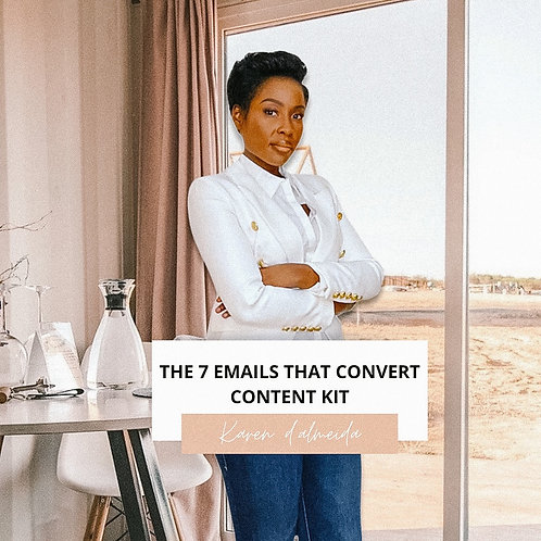 THE 7 EMAILS THAT CONVERT CONTENT KIT
