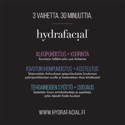 Hydrafacial face hoidon kulku jpg