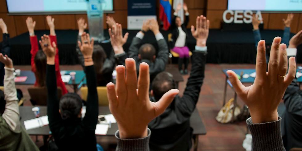 """Encuentro Nº100 de la Comunidad F - """"Hacia un futuro del trabajo consciente"""""""