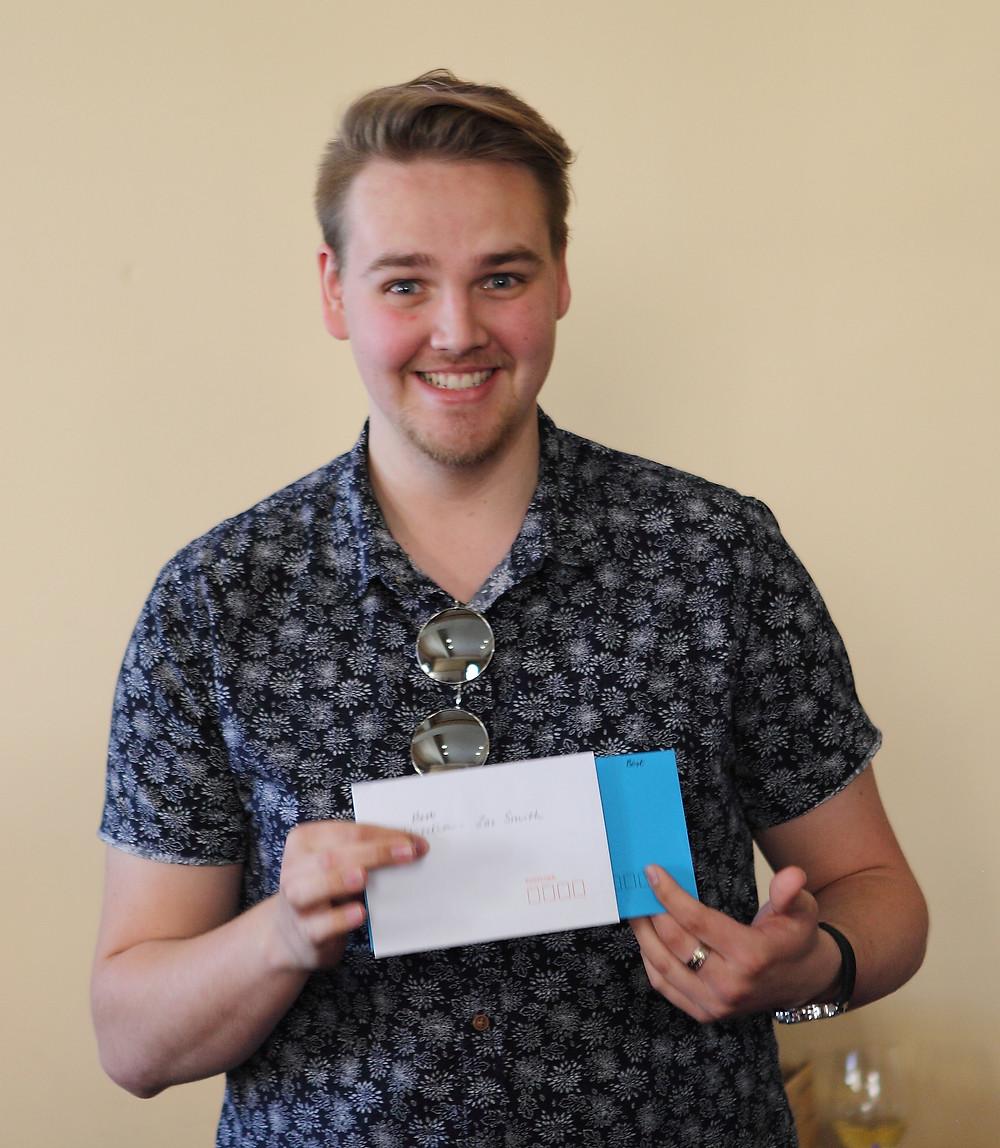 Zac Smith, winner of Best Direction