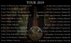Tournée 2019