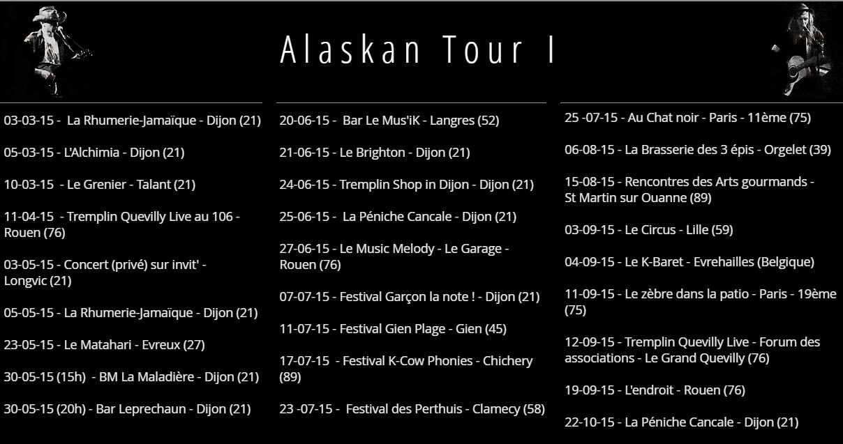 Alaskan Tour I