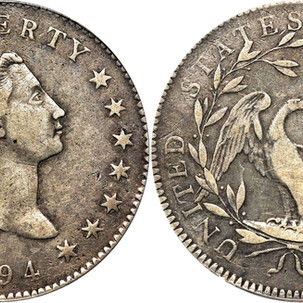 USA Early Silver Dollars 1794-1885