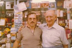 Barry Uman with/avec Alex Carsley 1970's