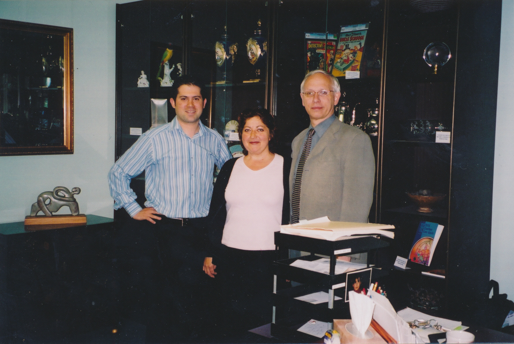 Mike Joffre, Lucy Raposo & Bill Whetstone
