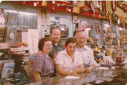 Jose Reis, Alex Carsley & Staff/l'équipe 1980's