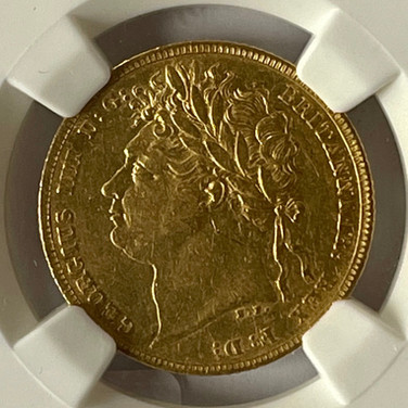 Great Britain Sovereign 1822
