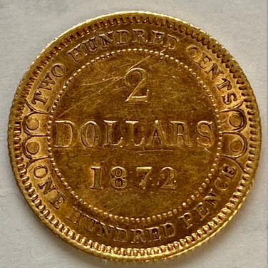 Newfoundland Two Dollars 1872