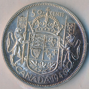Canada's 50 Cents, a Somewhat Forgotten Coin