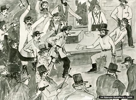 1855: Elections, Policies & Politics