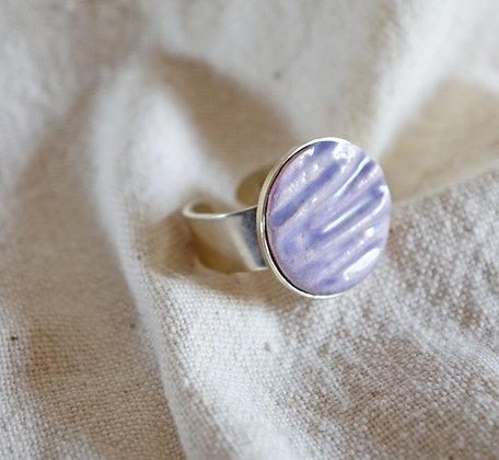 Bague Violette en Argent