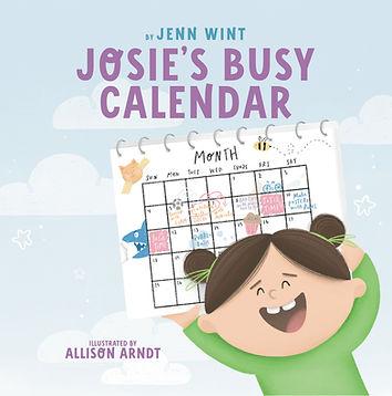 Josie's Busy Calendar - Front Cover.jpg