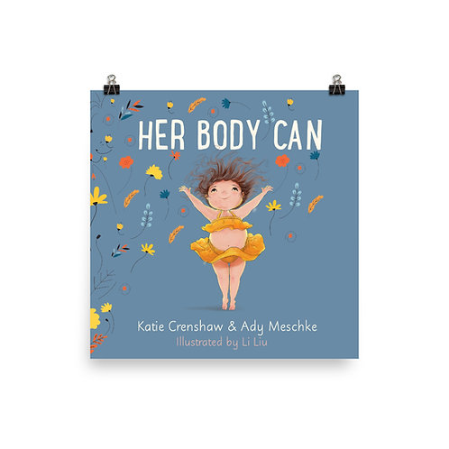 Her Body Can Cover Keepsake Poster
