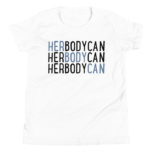 Her Body Can Youth Unisex Short Sleeve T-Shirt