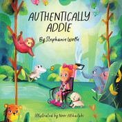 Authentically Addie - Front Cover Image.