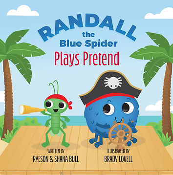 Randall the Blue Spider Plays Pretend - Front Cover Image.jpg