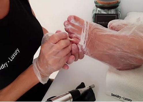 semidry pies destapamos dedos y palito l