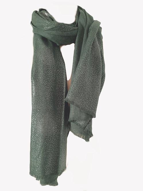 Pañuelo Cashmere Verde JR41