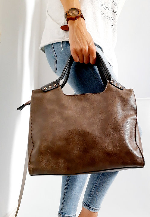 Bolso marrón T0770