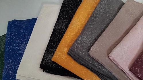 Set 10 pañuelos cashmere