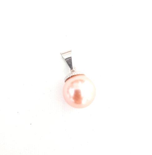 Colgante perla Clasic Plata 1Ley