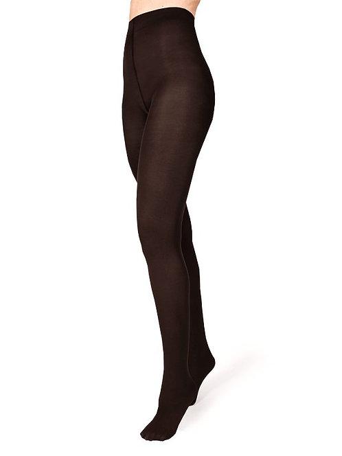 Panty opaco marrón