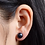Thumbnail: Perla negra Basic Plata