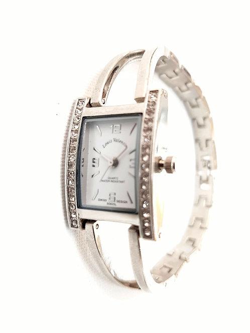 Reloj cuadrado con strass