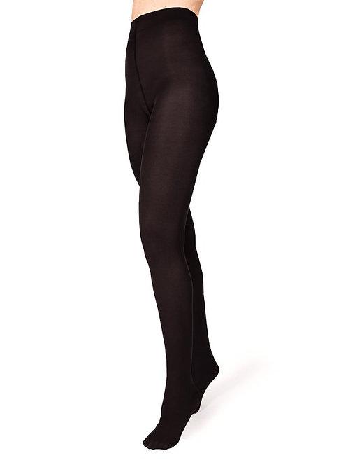 Panty opaco negro