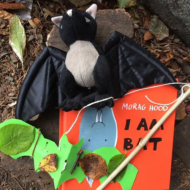 Great morning down in _growmayow Thanks for coming to our bat inspired session! Enjoy your puppets!�
