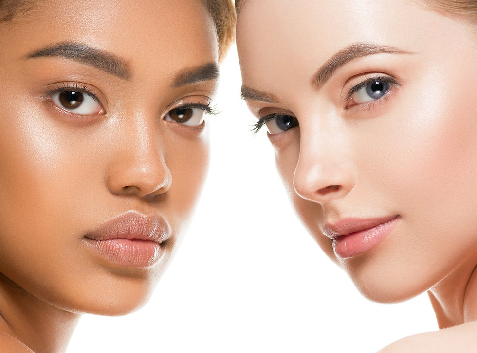 Ethnic beauty women skin beauty cosmetic