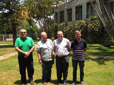 Encontro na Nunciatura Apostólica em Brasília