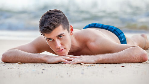 hot men on the beach speedo