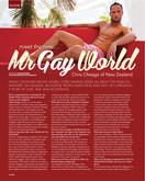 chris | winner mister gay world 2013