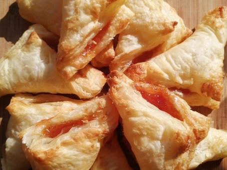 Super Easy Vegan Jam Turnovers Recipe